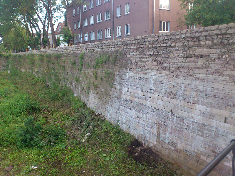 Haljastustööd – Narva bastionid
