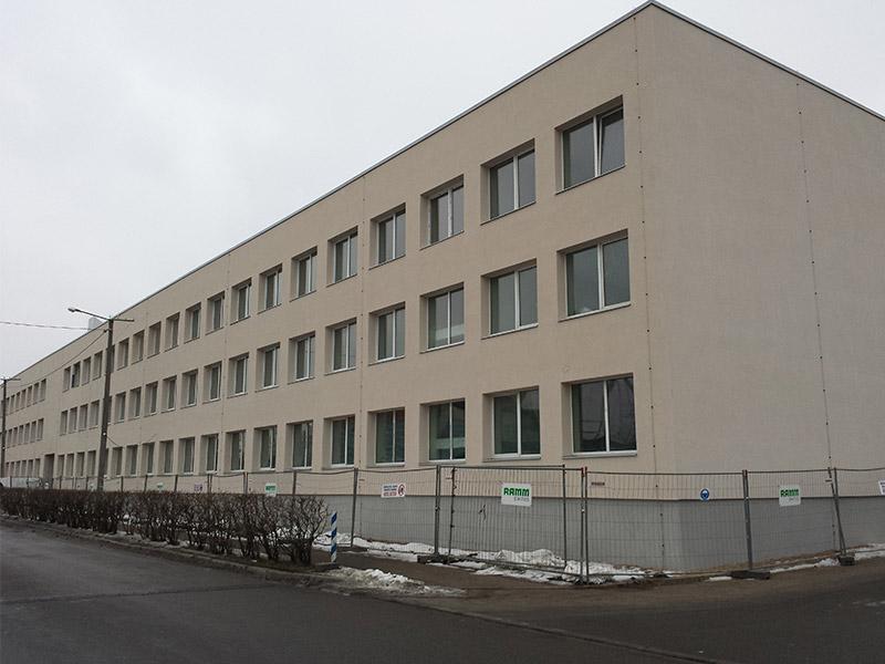 Fassaadi tööd – Tallinna Lasnamäe Mehaanikakool