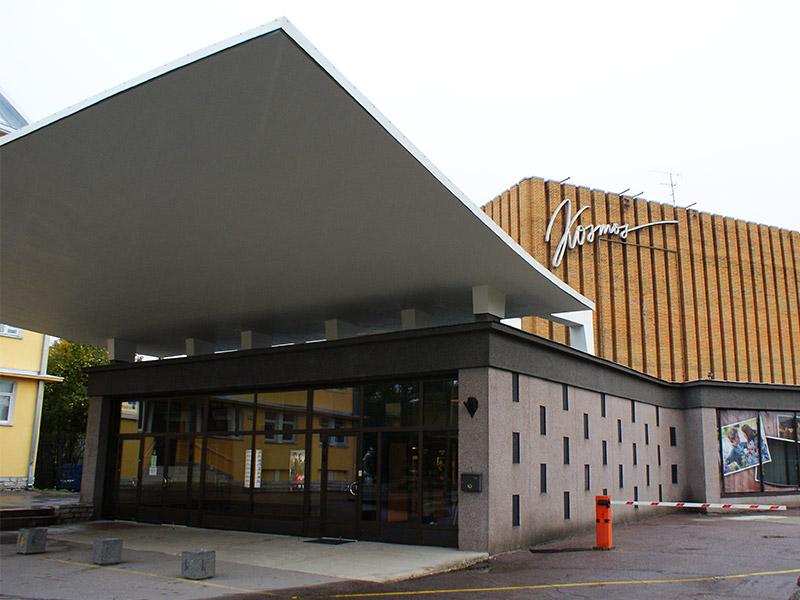 Akustiline krohv – Kino Kosmos, Pärnu maantee 45, Tallinn