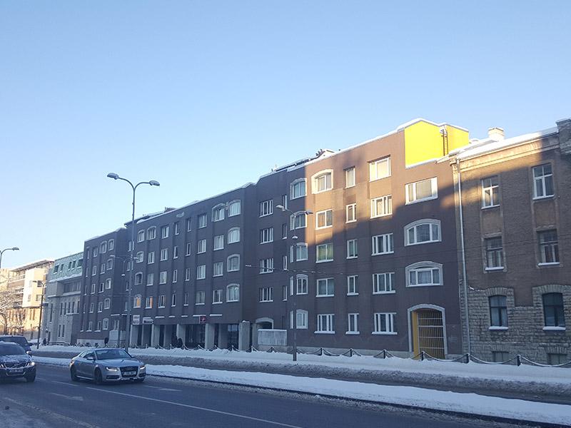 Fassaadi renoveerimine – Tartu mnt. 55/59. 1 etapp