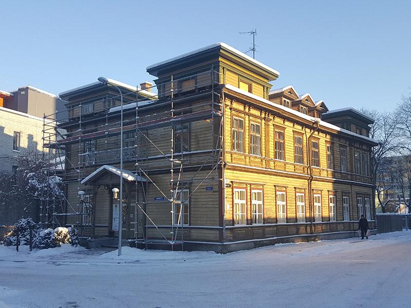 Katusekatte vahetus – Eesti Seksuaaltervise Liidu büroo