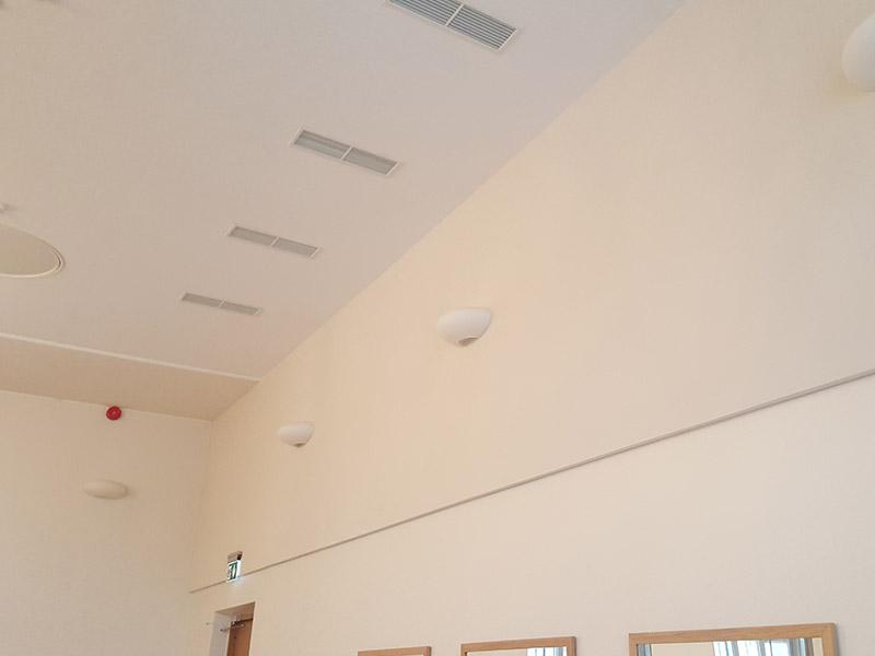 Aula akustikatööd – Karlova Kool, Lina 2