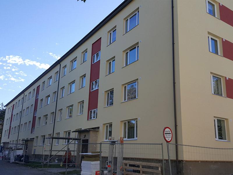 Fassaadi renoveerimine – Mahlamäe 3