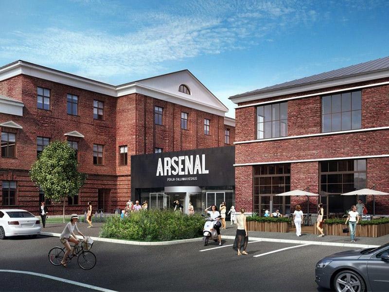 Siseviimistlustööd – Arsenali keskus