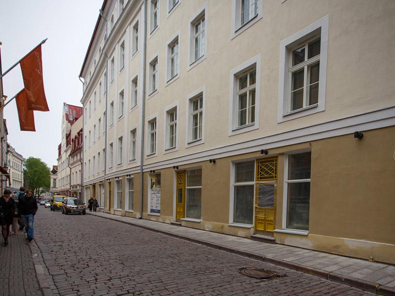 Fassaadi restaureerimine – Korterelamu Pikk tänav 36